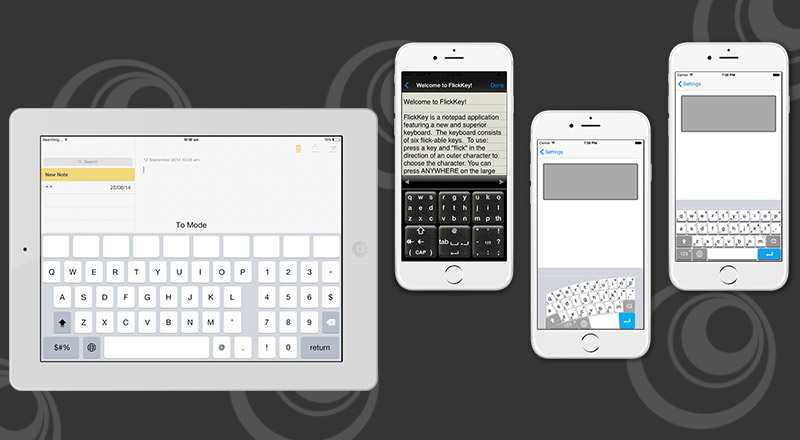 A Midas Touch from SPEC INDIA for Keyboard Based Apps with iOS8