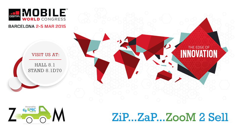 Sales Force Automation Solution ZooM from SPEC INDIA to be showcased at the Mobile World Congress 2015