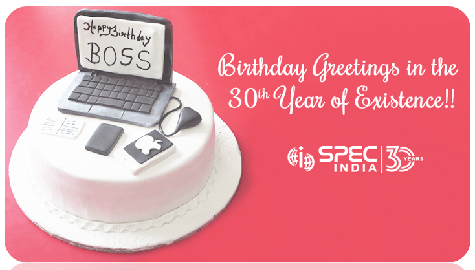Celebrating the CEO's Birthday in the 30th Year of Existence!