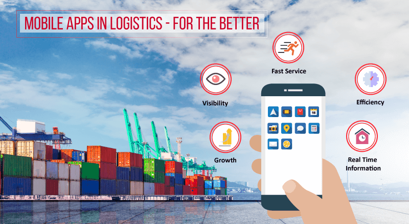 Mobile Apps Bring a Paradigm Shift in Logistics Industry for the Superior