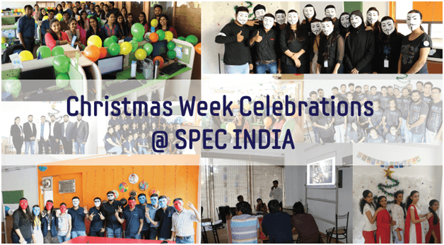 Christmas Festivities at SPEC INDIA
