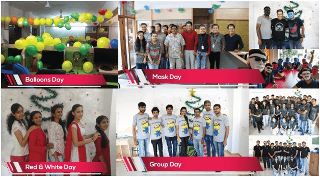 Day Wise, Theme Wise Celebration Christmas– SPEC INDIA 2