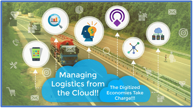 Managing Logistics from the Cloud