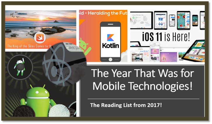 Mobile Technologies - The Reading List from 2017