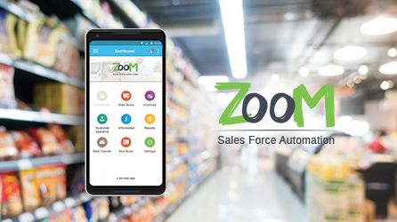 ZooM – Mobile Sales Force Automation Solution