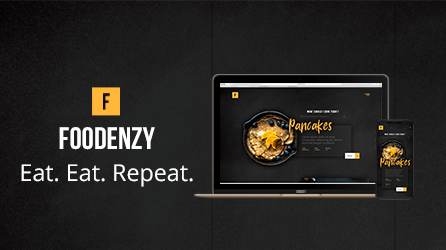 Foodenzy – Web Development For Online Cooking Recipes