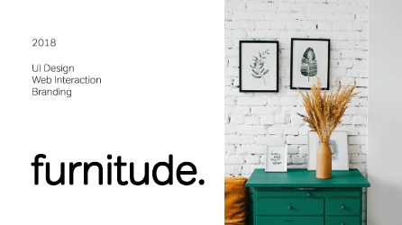 Furnitude – An Intuitive eCommerce Furniture Store