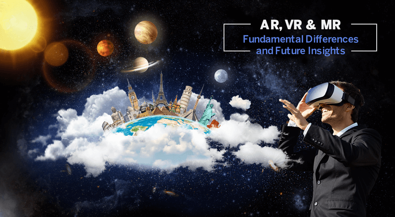 AR,VR and MR
