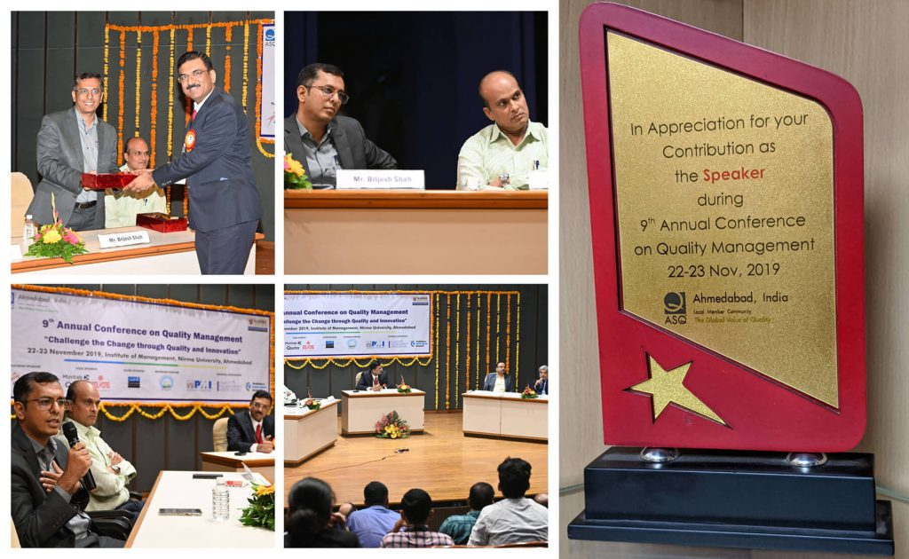 SPEC INDIA AGILE Coach at ASQ-Nirma 9th Annual Quality Conference