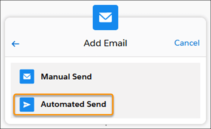Send Emails Automatically from Sales Cadences