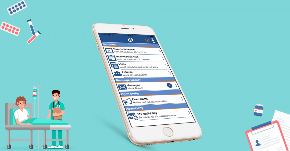 Mobile App For Caregivers