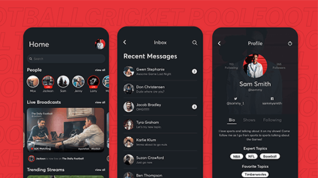 Live Sports Streaming App