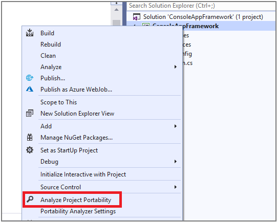 .Net Portability Analyzer