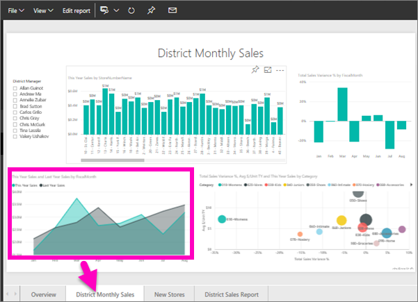 sample-power-bi-report-for-district-monthly-sales