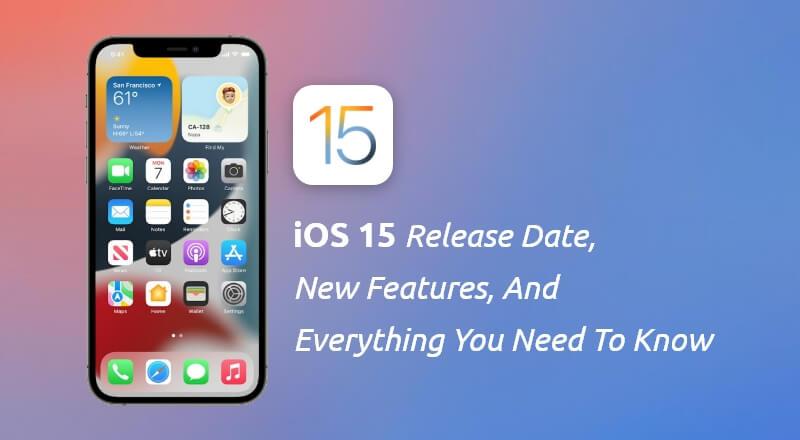 iOS-15-Announced
