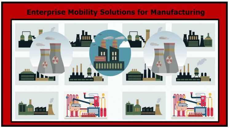 Enterprise Mobility Solutions for Manufacturing Industry – Innovation at its Best