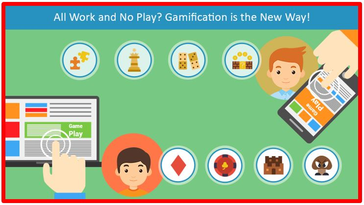 All Work and No Play? Gamification is the New Way