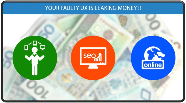 Your Faulty UX is Leaking Money!! Keep Focus on UI/UX Development