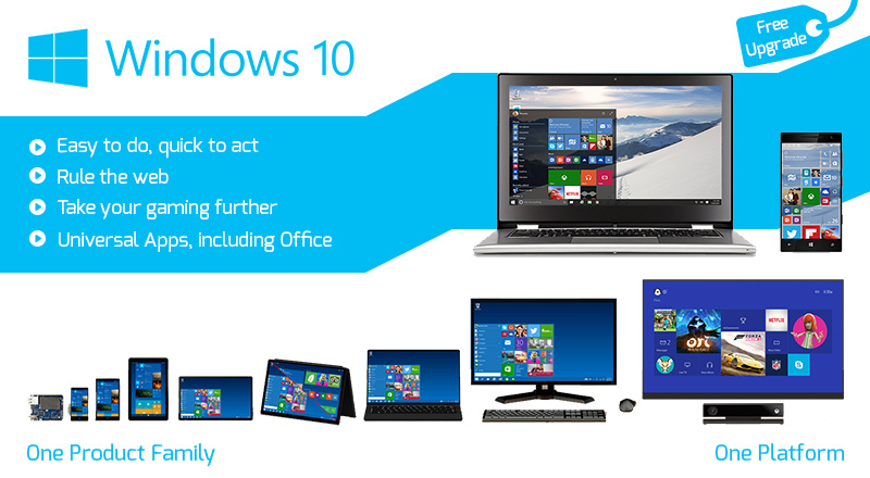Windows 10 – Unified, Better and the Best