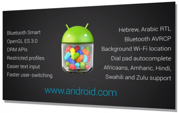 Android 4.3 Features