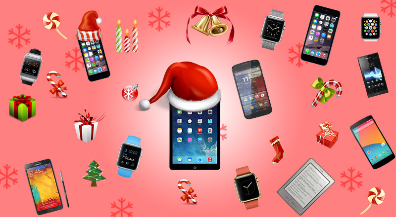 Exciting Christmas Gifts! An Apple or an Android?