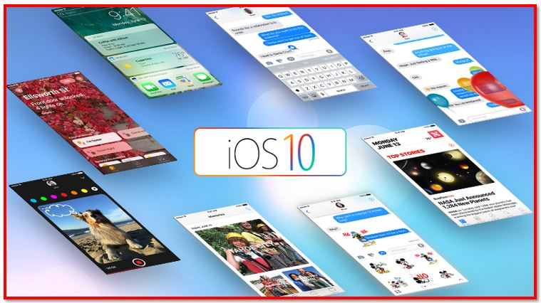 Apple iOS 10 – Arriving by the Fall of 2016