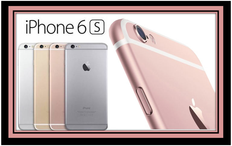 No, not Pink, It is Rose Gold. The iPhone 6S is here!!